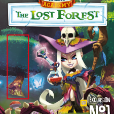 dungeon academy lost forest board game translator